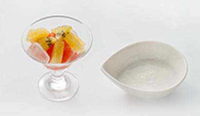 フルーツヨーグルト+¥100