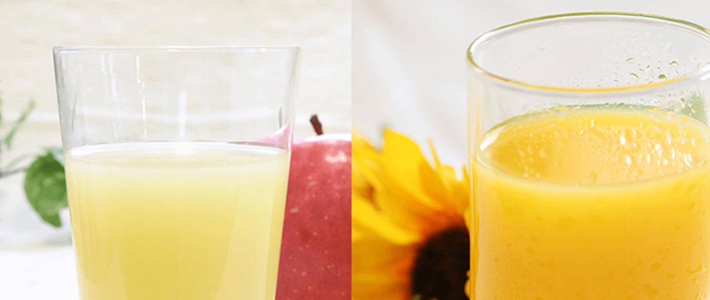 プレミアムジュース(オレンジジュース・アップルジュース・ グレープフルーツジュース)